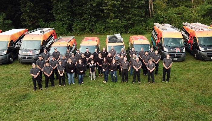Hurlburt Team Photo With Vans