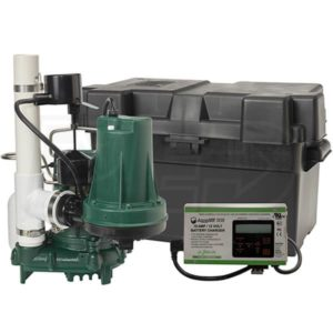 Sump Pump with DC Backup